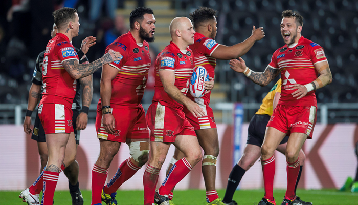 Salford Red Devils 50-12 Catalans Dragons