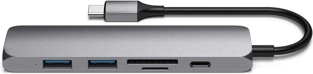 Satechi Slim Type-C Multi-Port Adapter V2