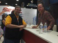 Dan and Joss Whedon at San Diego Comic-Con