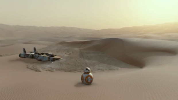 Star Wars 'Jakku Spy'