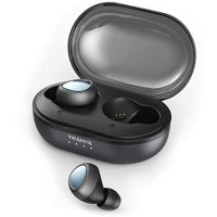 Tranya Rimor True Wireless Earbuds charger and earbud