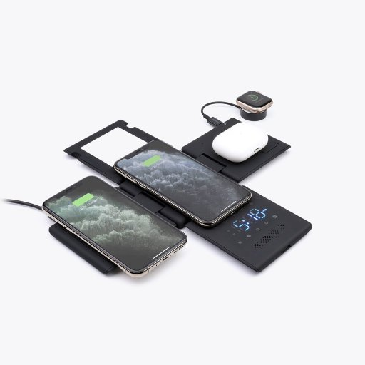 HyperCube Wireless Charging Stations and Sleep Aid  flat charging