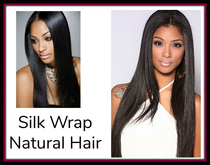 Silk wrapping your hair is a relatively new technique of wrapping your hair while dry and sitting under a hooded dryer. The purpose of this treatment was intended to give relaxed hair the 'flat ironed and silky' look without the heat trauma involved.  We show you how to silk wrap properly.