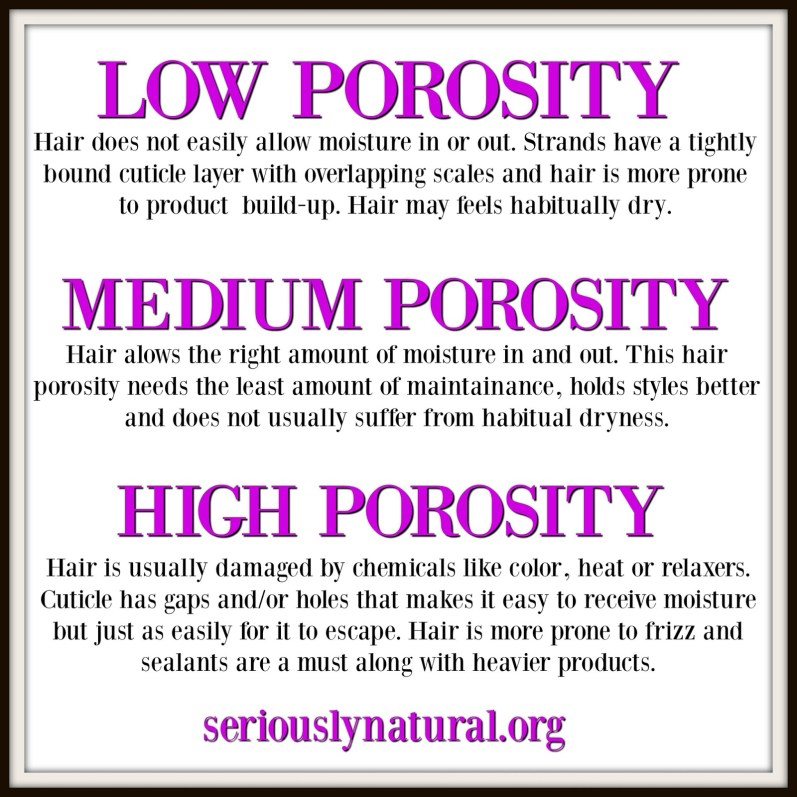 I Have High Porosity Hair And Here S How I Deal With It Seriously Natural