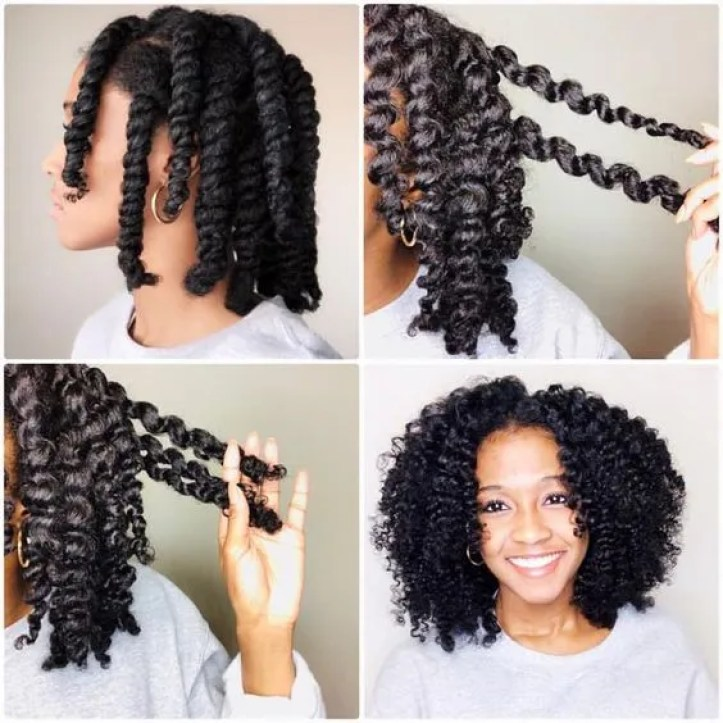 Learn how to create a beautiful twist out whether a regular twist out or a flat twist out. We've got the step by step instructions with videos!