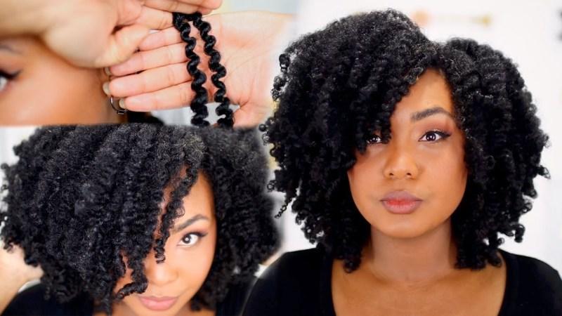 Bantu Knots Out & Flexi Rods Set Tutorials: 2 Beautiful