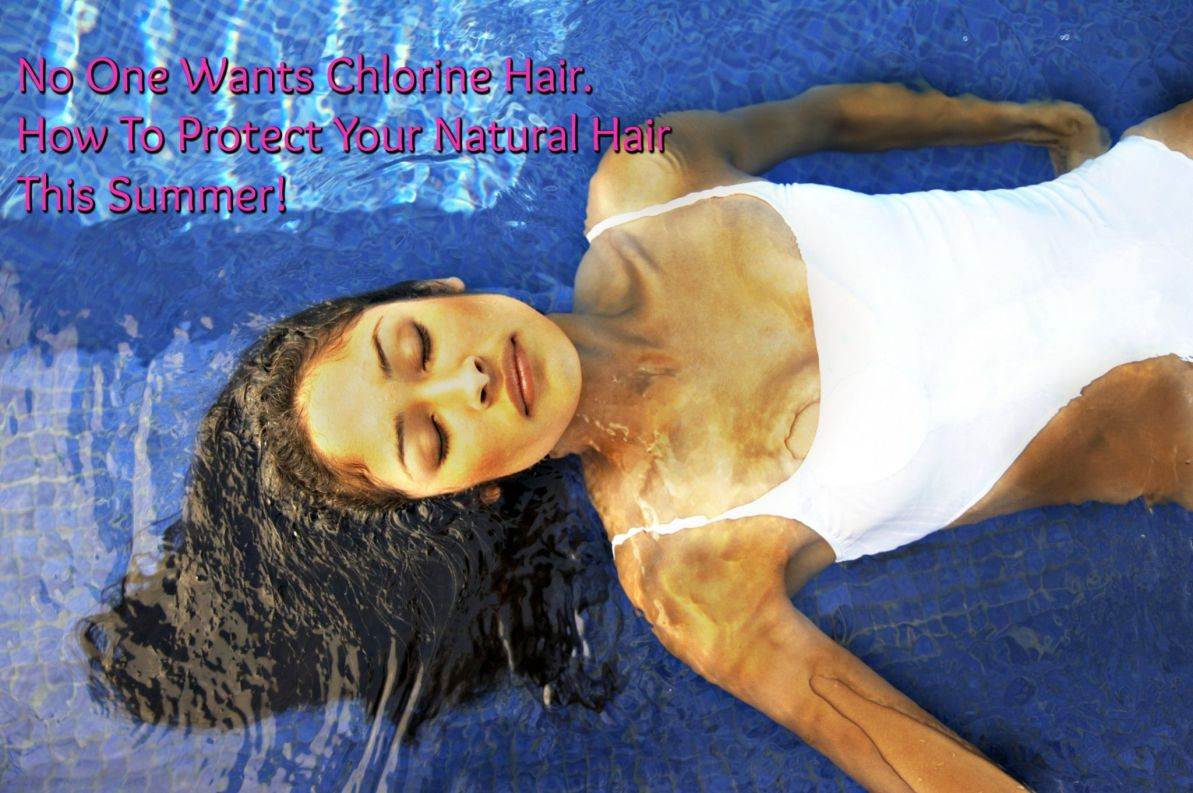 Summer means swimming and you must take care of your hair so you don't get Chlorine Hair. We've got the top tips to keep your protected while you swim!