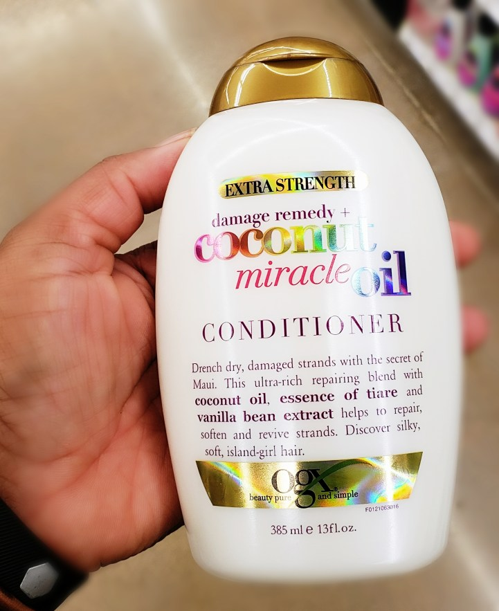 Stock up on your favorites like OGX Coconut Miracle Oil Conditioner with a Buy $15, Save $5 on popular Cosmetics, Hair, and Skincare from 9/5 through 9/18.