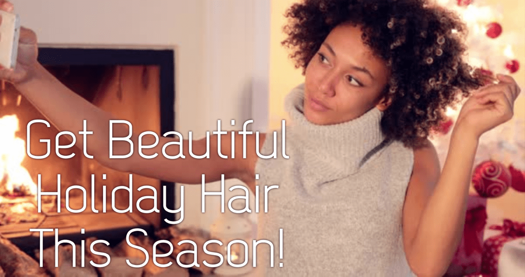 Holiday hair time! If you want beautiful hair this fall and winter, check out these 9 tips that will get your holiday hair in tip top shape!
