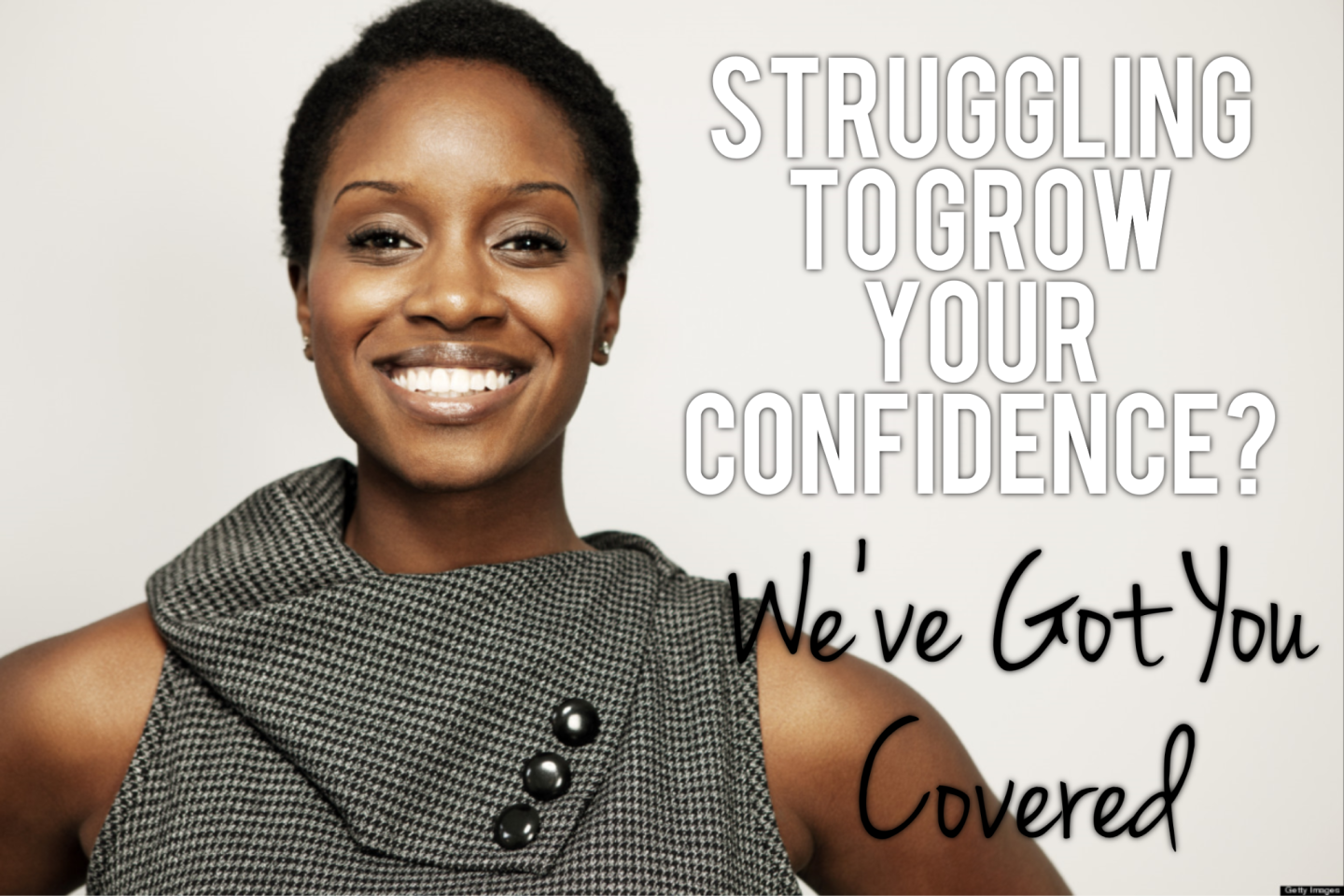 No matter how low your confidence levels might be right now, there's always more you can do and always steps that can be taken to fix your situation.