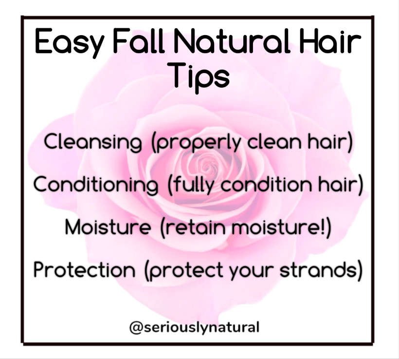 Easy Fall Natural Hair Tips That Minimize Breakage & Increase Moisture, From washing to drying to styling, we've got the top tips.