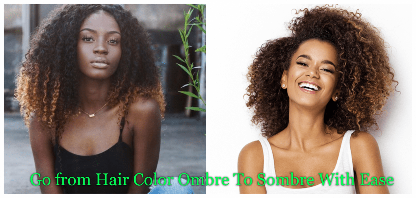 Ombre is out and sombre is in! Bleaching hair to achieve that ombre look and ready to change? We've got deets on how to go to sombre and be fall ready!
