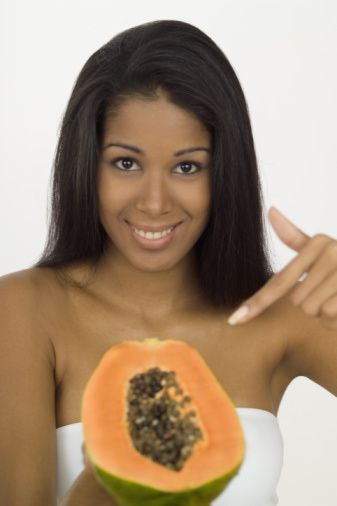 Papaya for hair? Yes! This wonder fruit is excellent for scallp health, conditioning and hair growth. Check out all the ways your hair will love this!