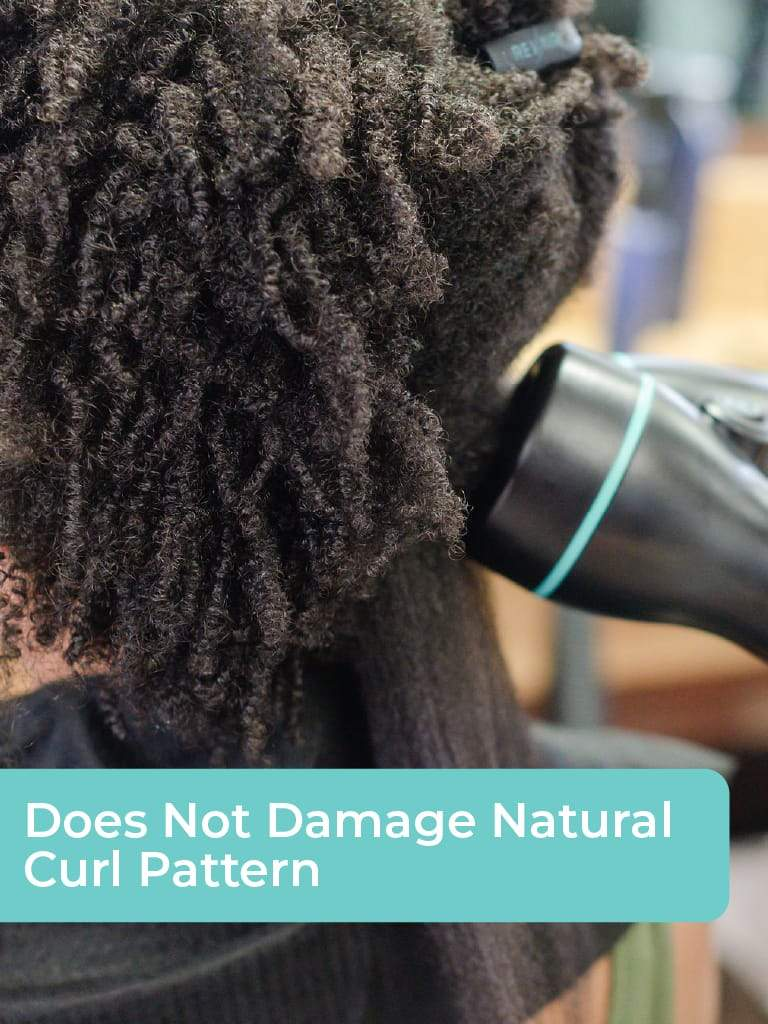 Straighten natural hair correctly and quickly. Is that possible? Yes, it is! Use Revair, The Ultimate Hair Drying & Straightening Device for natural hair.