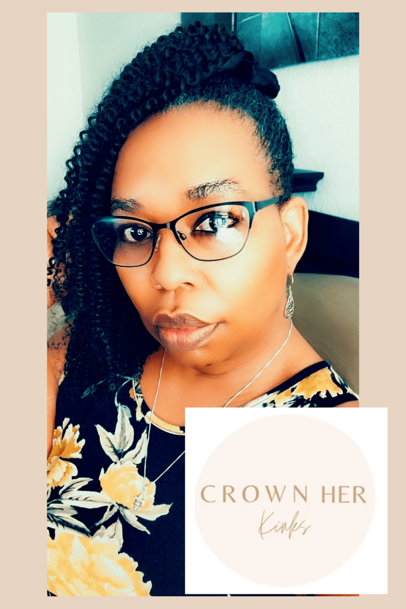 Natural Hair Ponytail From Crown Her Kinks
