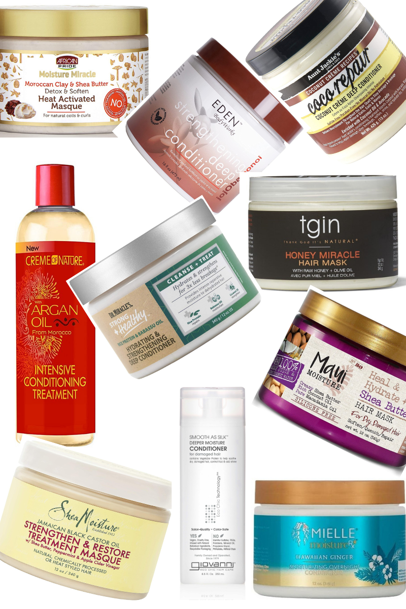 10 Inexpensive And Popular Deep Conditioners You Need For Natural Hair
