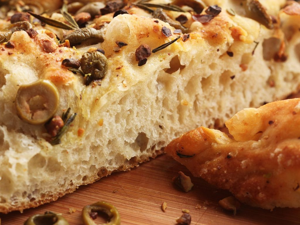 Bread Toppings Focaccia