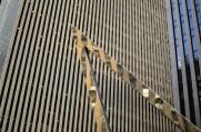 Metal sculpture in NYC