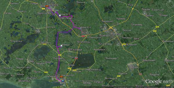 Route dag 1