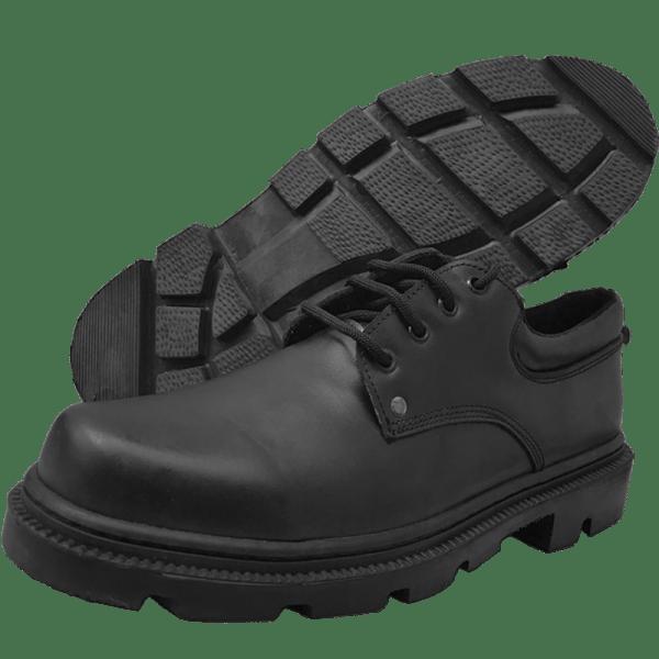 Zapato Industrial de Cuero Antideslizante