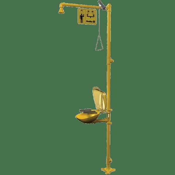 S19-314PDCFW Sistema de Ducha + Lavaojos de Emergencia