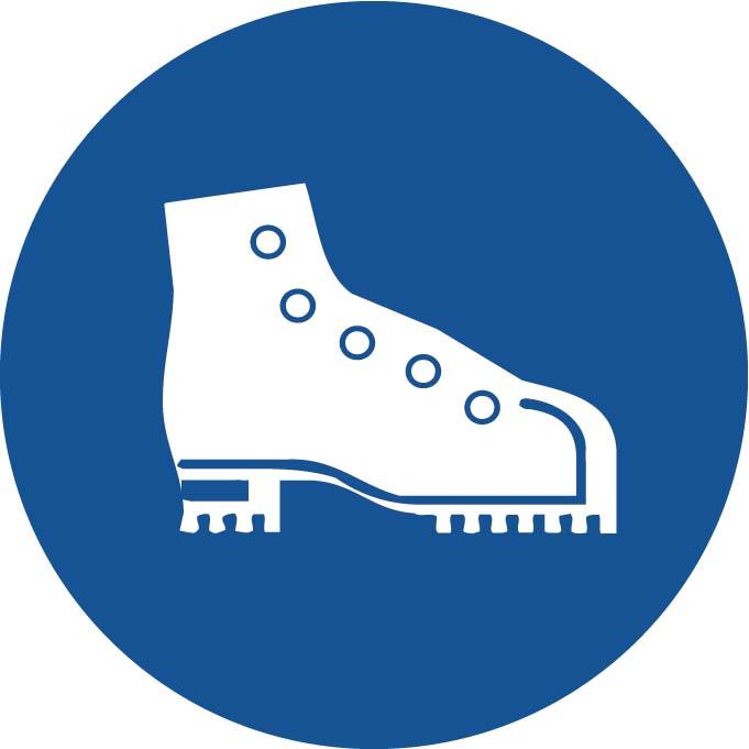 Port de Chaussures de sécurité Image