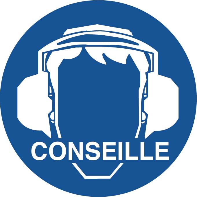 Port des protections auditives conseillées Image