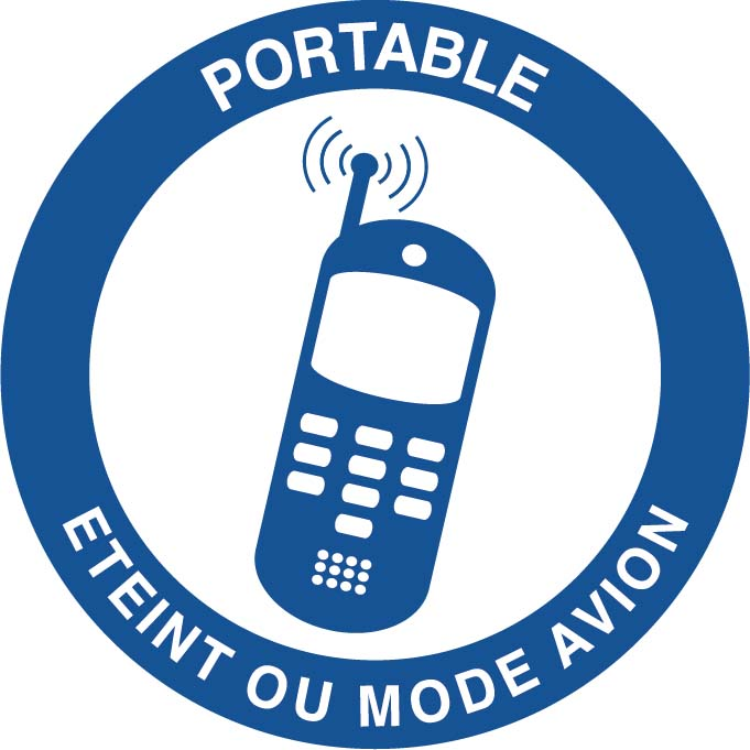 Portable éteint ou mode avion Image