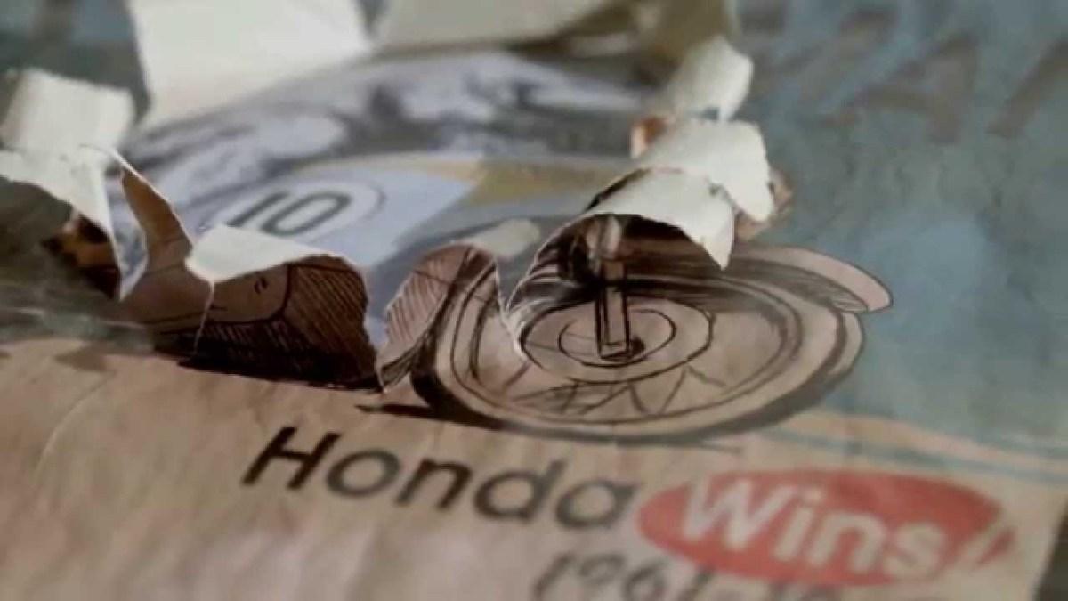 "Honda ""Paper"" Reklamı"