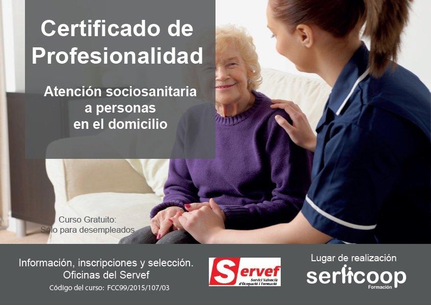 Vistoso La Certificación De Auxiliar De Salud A Domicilio Gratis ...