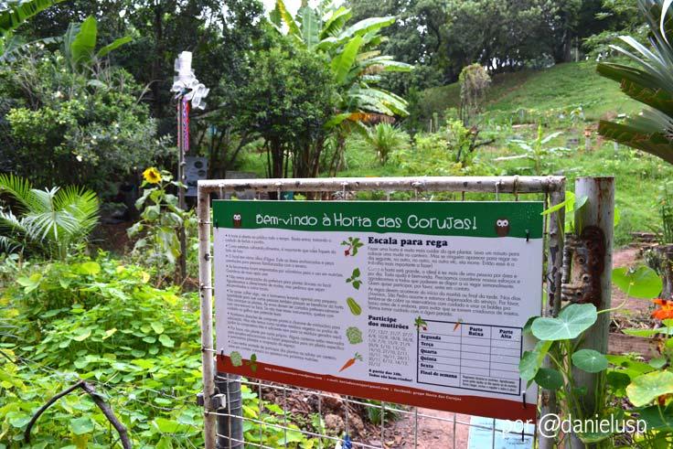 Horta das Corujas na Vila Beatriz