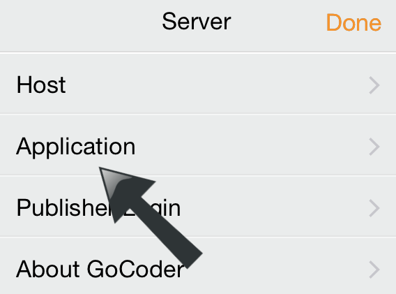 GoCoder Server Application1