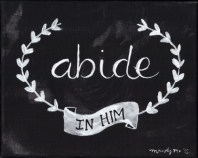 """Image result for ABIDING IN HIM"""""""