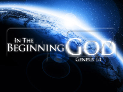 Image result for in the beginning, God