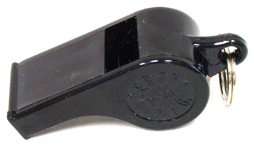 Seron Mfg Co Internet Website  Model P38tm Plastic Whistles and P38tm Finger Grip