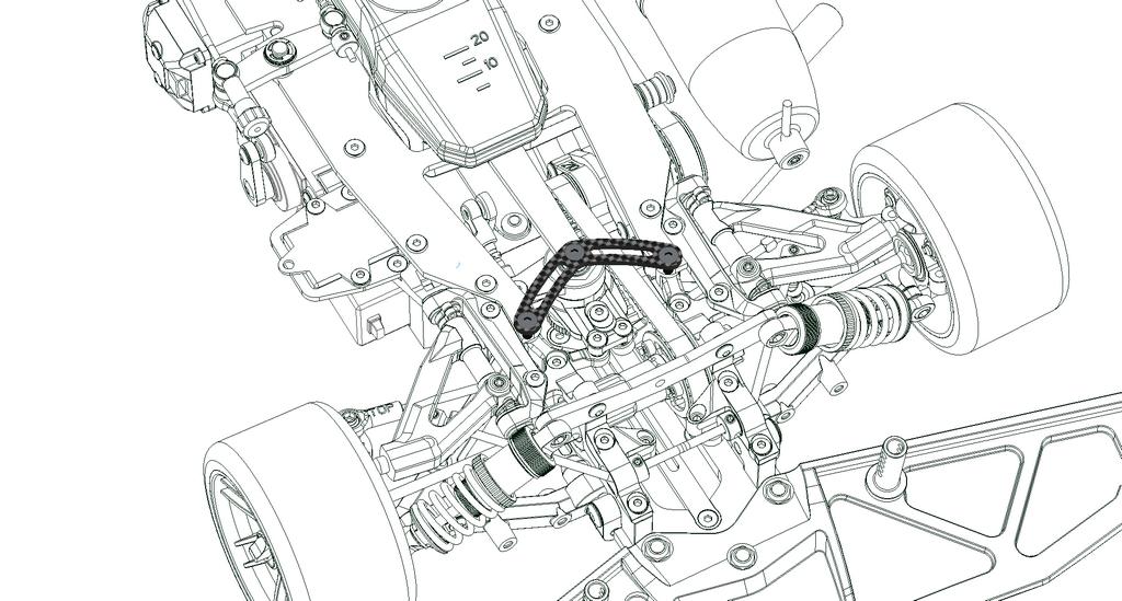 903019 SERPENT VIPER 989 40Th Anniversary 4WD 1/8 GP NITRO