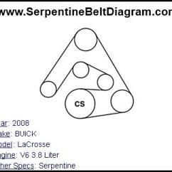 2005 Mazda 3 Serpentine Belt Diagram Kitchenaid Superba Refrigerator Wiring » 2008 Buick Lacrosse For V6 3.8 Liter Engine