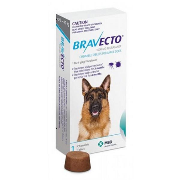Bravecto Lge Dog 20-40kg