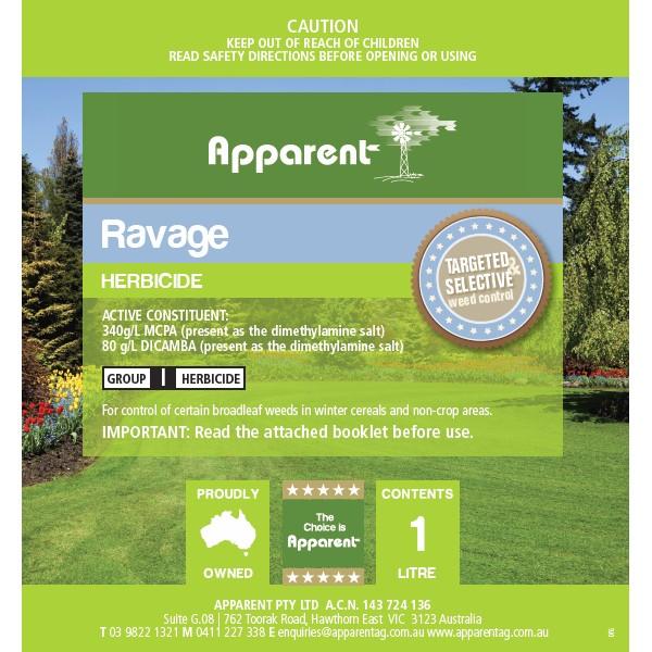 Apparent Ravage (Dicamba MCPA) 1L