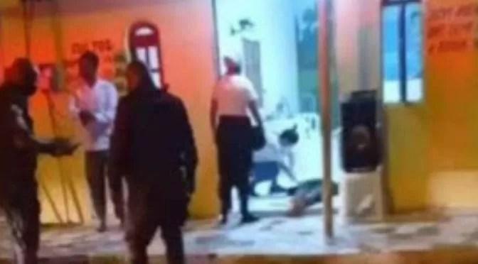 Homem é morto a tiros e cai em porta de igreja evangélica no Norte Fluminense