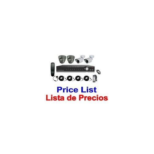 - CCTV Price List