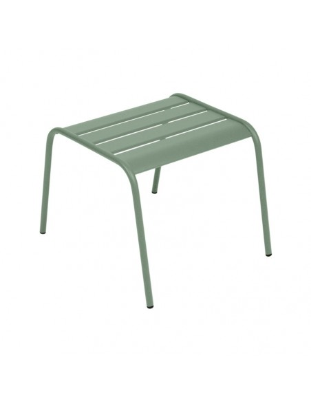 table basse repose pieds monceau metal empilable fermob