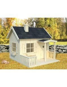en bois cabane de jardin enfant