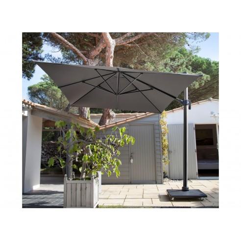 parasol deporte 3 x 4m nh inclinable et rotatif coloris au choix proloisirs