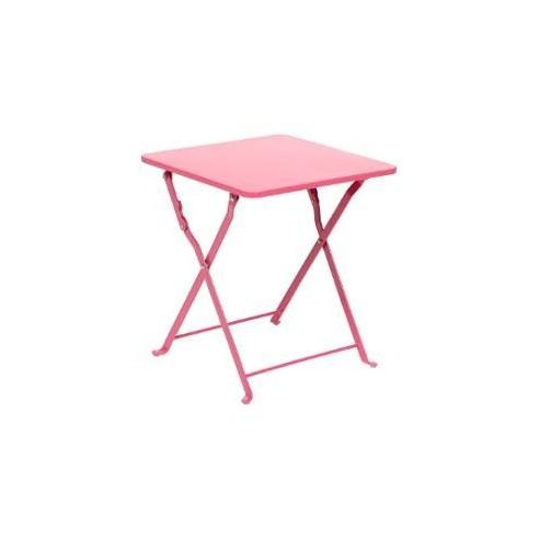 table d appoint nindiri l 40 x p 40 x h 45 cm pliante