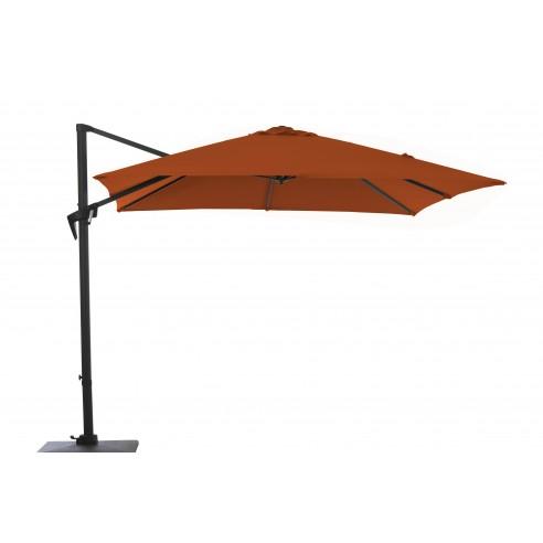 parasol deporte roma 3 x 3 m aluminium plusieurs coloris proloisirs