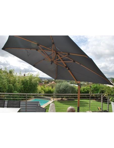 parasol deporte 3x3 heat transfert effet teck mwh