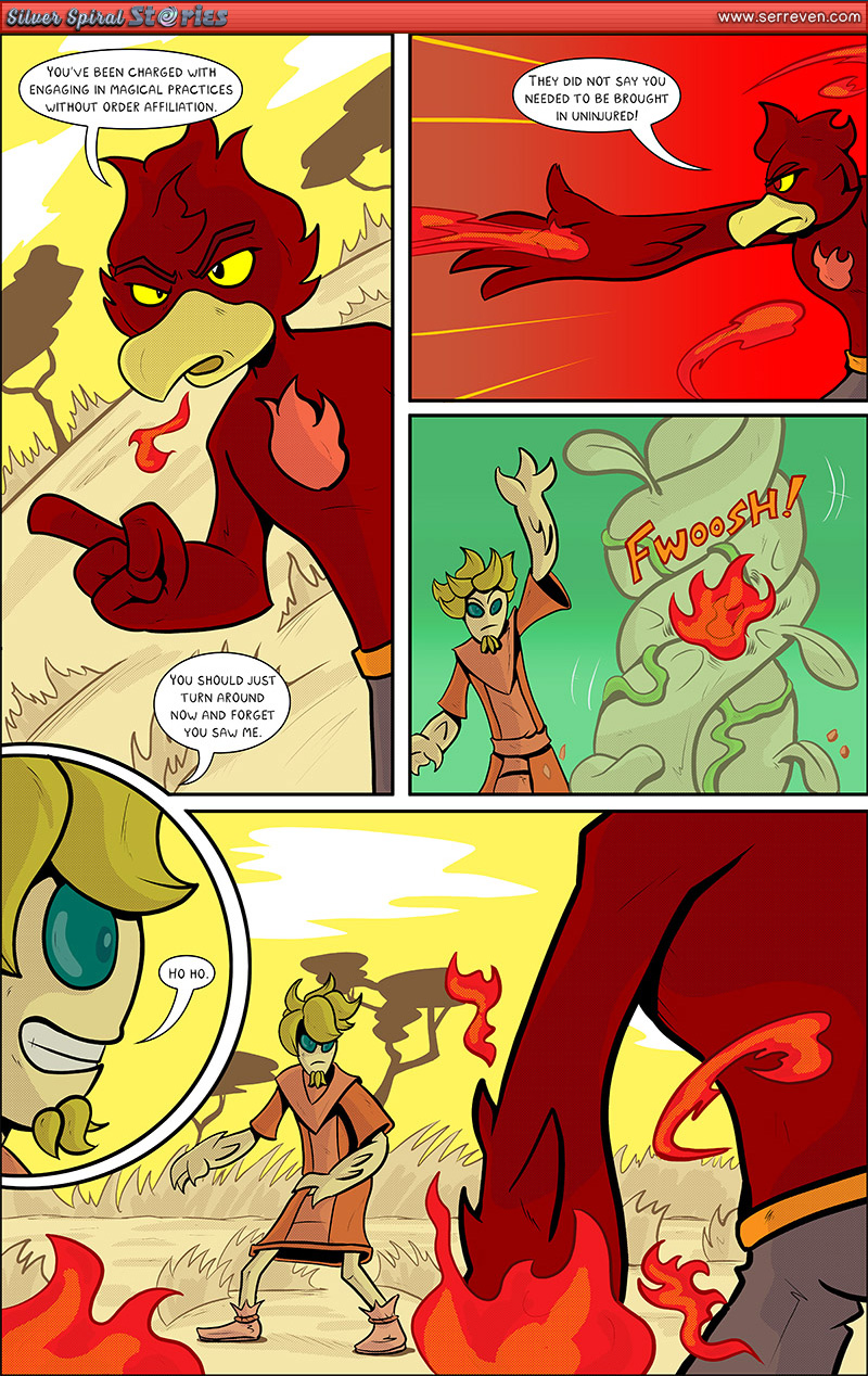 """""""Rogue on the Run"""" – Pg 2"""