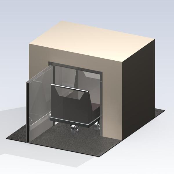 Systèmes de passage: Sas pour produits et pour valises