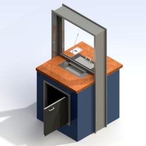 Serrure à monnaie/matériel P 8051